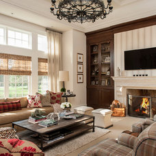 Traditional Living Room by Tabberson Architects