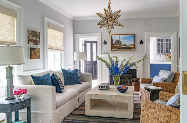Beach Style Living Room by Shor Home