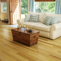 Preverco Hardwood - CASUAL COUNTRY FAMILY ROOM – HICKORY VARIATION
