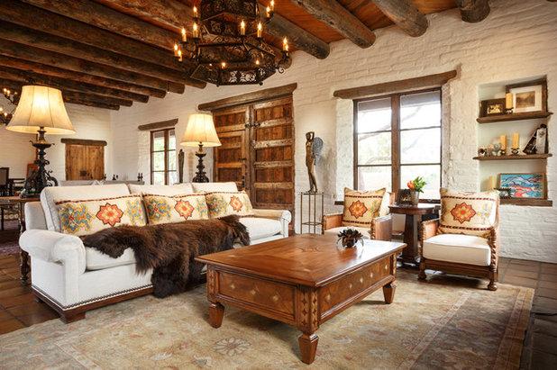 Unique Southwestern Living Room Prewitt