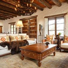 Southwestern Living Room Prewitt