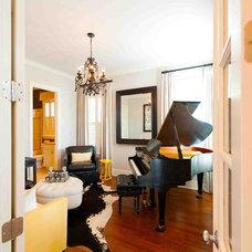 Traditional Living Room by Heather ODonovan Interior Design
