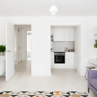 Small Open Kitchen And Living Room Houzz