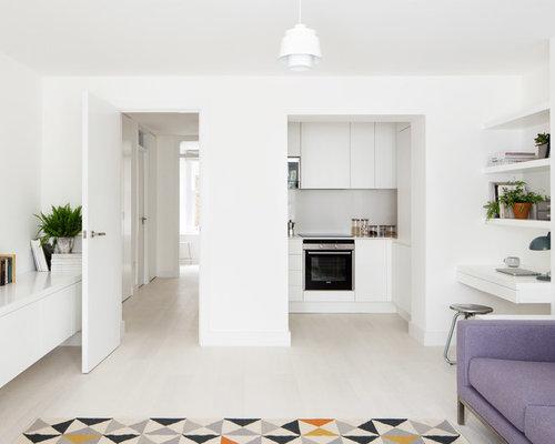 kleine wohnzimmer ideen design bilder houzz. Black Bedroom Furniture Sets. Home Design Ideas
