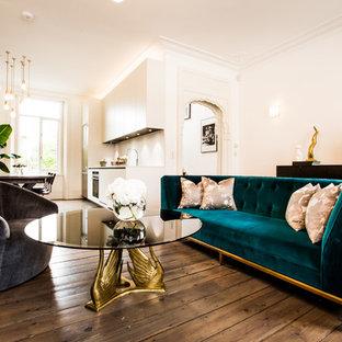 Retro living room in London.