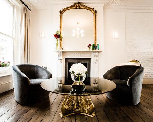 Mirror Above Fireplace | Houzz