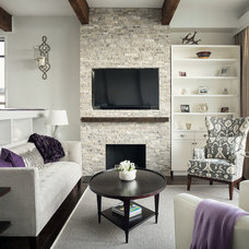 contemporary living room by JS Interiors LLC