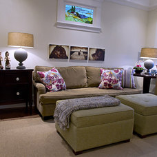 Eclectic Living Room by Good Space Design Group