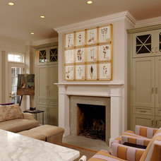 Traditional Living Room by Thorsen Construction