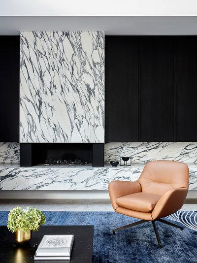 Modern Living Room by Christopher Elliott Design