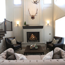 Traditional Living Room by Westridge Homes