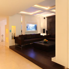 Modern Living Room by A++ Architecture Design Communication