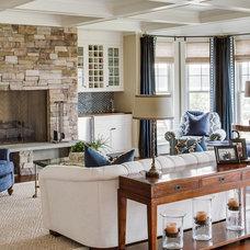 Beach Style Living Room by JS Interiors LLC