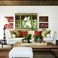 Eclectic Living Room by ILevel