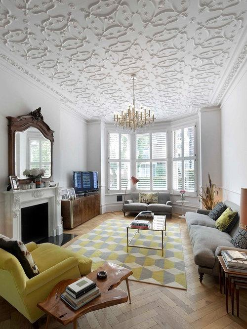 Rectangular Living Room Ideas and Photos | Houzz