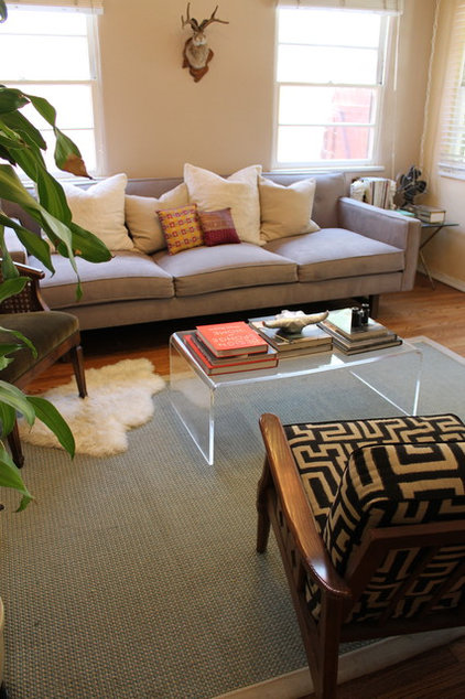 Eclectic Living Room by Madison Modern Home