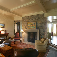 Traditional Living Room by Pursley Dixon Architecture
