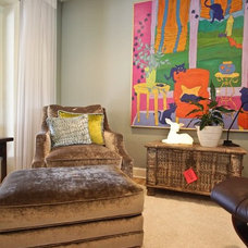 Eclectic Living Room by Firefly Designs and Events
