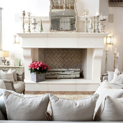traditional living room by Alice Lane Home Collection