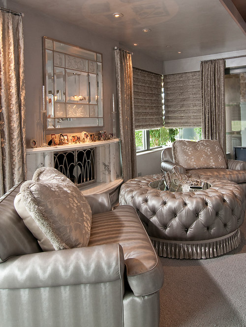 living room hollywood glam houzz 10904