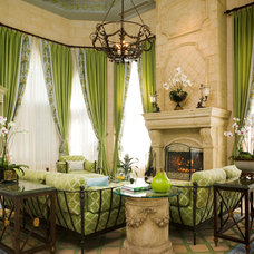 Traditional Living Room by Susan Lachance Interior Design