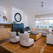 Contemporary Living Room by Meredith Drake Interiors