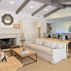Traditional Living Room by CGN Designs LLC