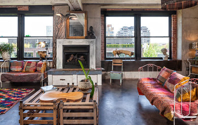 Houzz Tour: 12 Years of Tinkering Produce an Amazingly Artful Loft