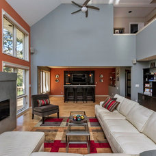 Contemporary Living Room by Monarch Renovations