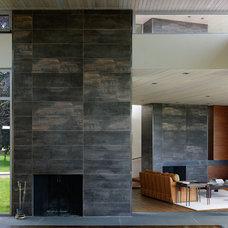 Contemporary Living Room by Denali Construction