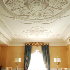 Traditional Living Room by Hyde Park Mouldings