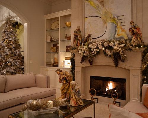 Elegant Living Room Photo In New Orleans