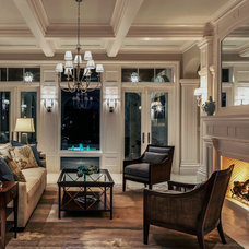 Traditional Living Room by Collins & DuPont Design Group