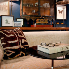 Eclectic Living Room by john thompson designer