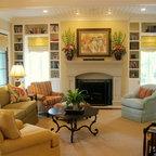 Custom Homes Traditional Living Room Charleston By
