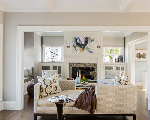 Small living room design ideas remodels photos houzz for Small living room layout examples