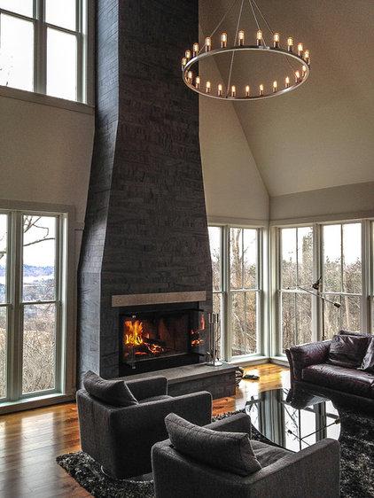 Modern Living Room by Niche Modern
