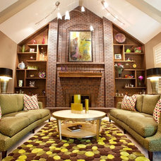 Eclectic Living Room by The Interior Design Firm