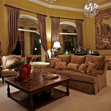 Traditional Living Room by Allegro Limited