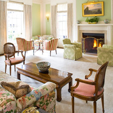 Traditional Living Room by Anthony Lindsey Photography