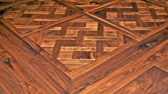 Private Residence - Walnut Parquet