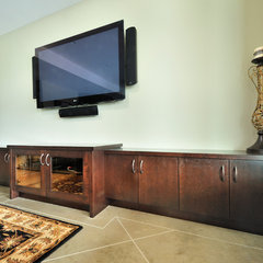 contemporary living room by Greystokes Millwork Ltd.