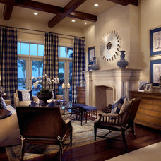 Traditional Living Room by Pacifica Interior Design