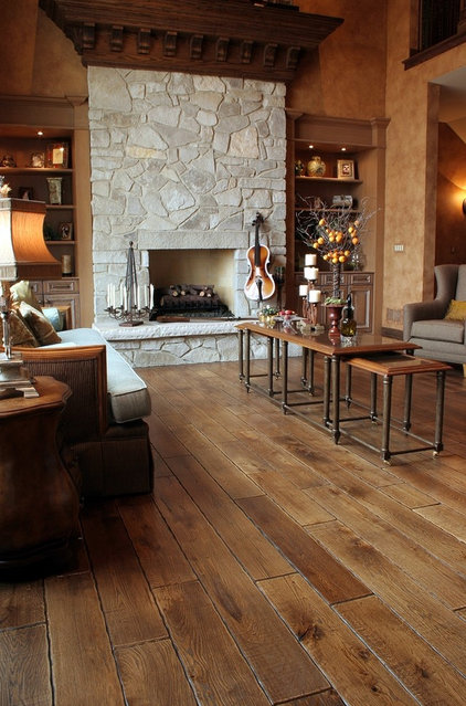 Traditional Living Room by Signature Innovations LLC