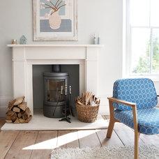 Transitional Living Room by iroka