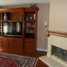 Mediterranean Living Room by M Stanton Company