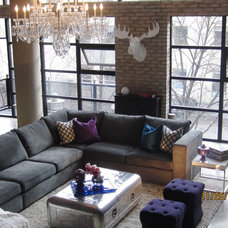 Eclectic Living Room by Inside Interiors