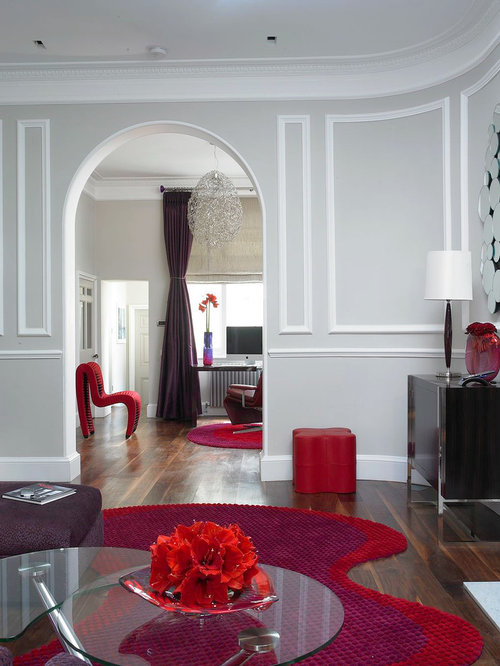 Red And Purple Houzz