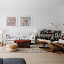 Houzz Tour: Walls Came Down in This Dramatic Apartment Renovation