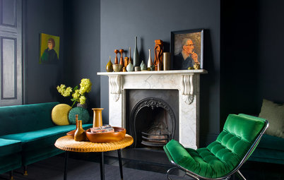Green Velvet Shines in These Enviable Rooms